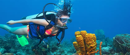 Bring your friend to discover scuba